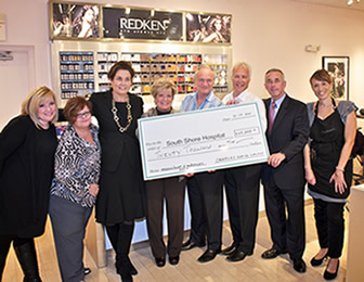 Charles David Presents $20,000 to Journey of Hope Campaign