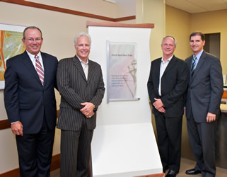 Charles David Staff Receives Plaque at South Shore Hospital