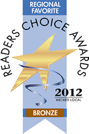 Reader's Choice Bronze Award